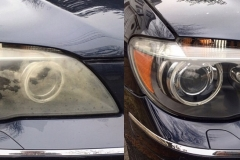 BMW+750i+Headlight+Restoration+Service